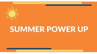Best Brains Summer Power Up Program