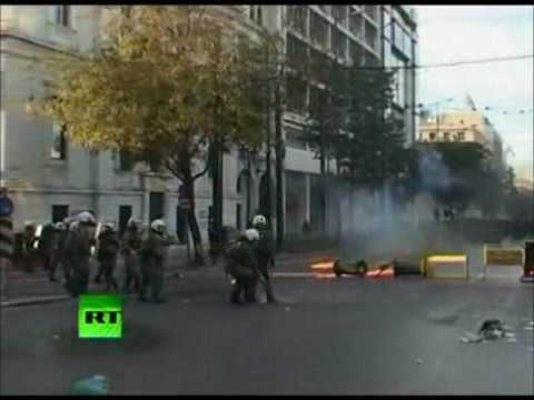 Ministry - NWO (Greece riots videoclip)