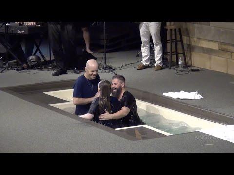 Water Baptisms @ King's Way Church 3616