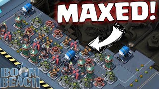 MAXED OUT! ☆ BOOM BEACH ☆ Warships