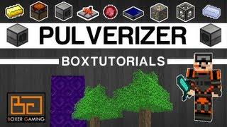 • boxTutorials - The Pulverizer [Feed the Beast] [Thermal Expansion]