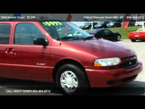 1999 Nissan Quest GXE   For Sale In Hopkinsville, KY 42240. Patriot  Chevrolet