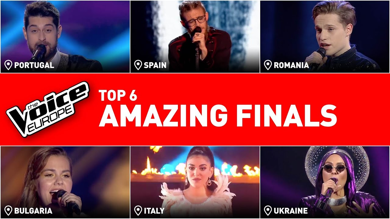 ASTONISHING finals in The Voice