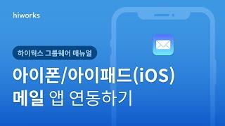 [하이웍스 매뉴얼] 메일 ─ 아이폰/아이패드(iOS) …