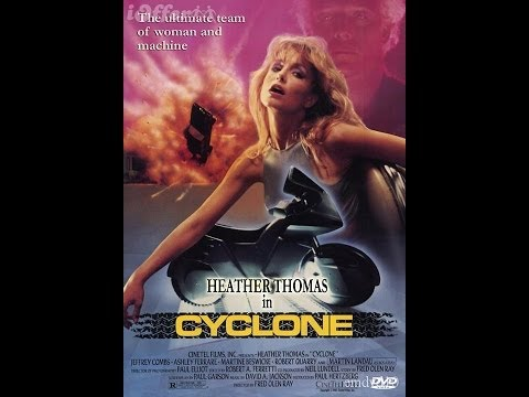 "Heather Thomas in ""Cyclone"" 1987"