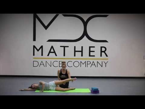 Sample Stretch class for Mather Dance Company Online