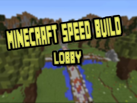 Minecraft Speed Build : LOBBY/HUB + DOWNLOAD LINK