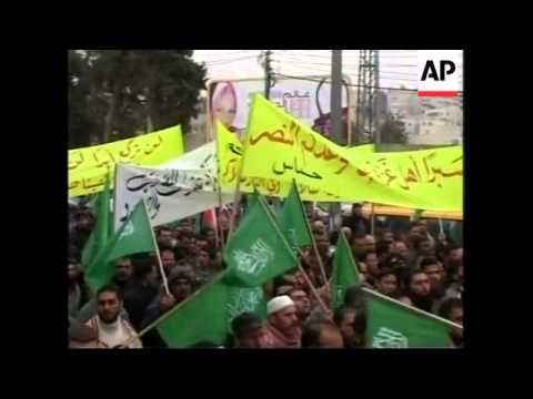 Israeli military at Gaza border, Hebron protest