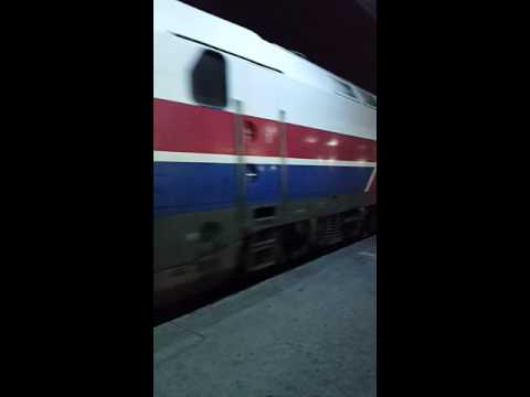 ΟΣΕ Θεσσαλονίκη άφιξη τρένου - OSE Thessaloniki intercity train arrival - Greek (Hellenic) Railways