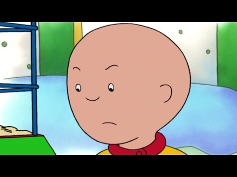 Funny Animated cartoons for Kids | Caillou goes to the beach
