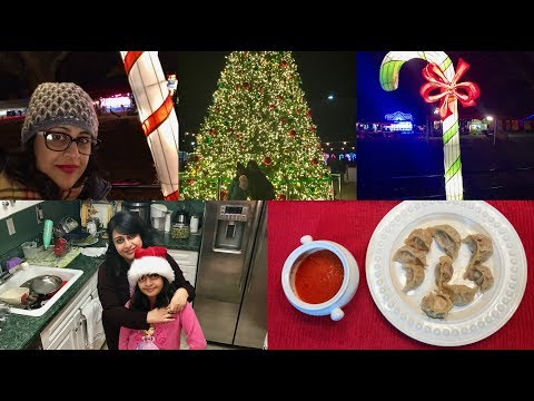 Friday Vlog : Went To Winter  Carnival And Prepared Tasty Momo  | Simple Living Wise Thinking