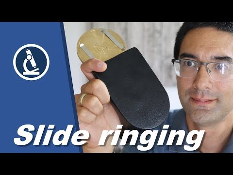 🔬 055 - A Slide Ringing Table For Microscope Slides And How To Use It! | Microscopy