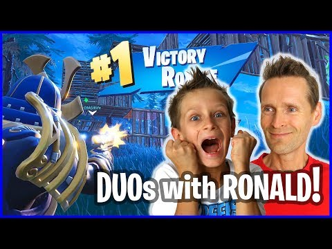 Ronald Clutched it up for VICTORY ROYALE!!!