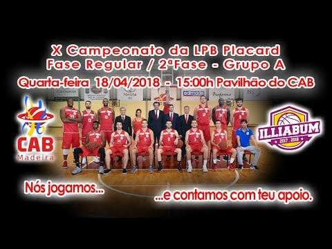 CAB vs ILLIABUM – 18/04/2018 - 15:00h