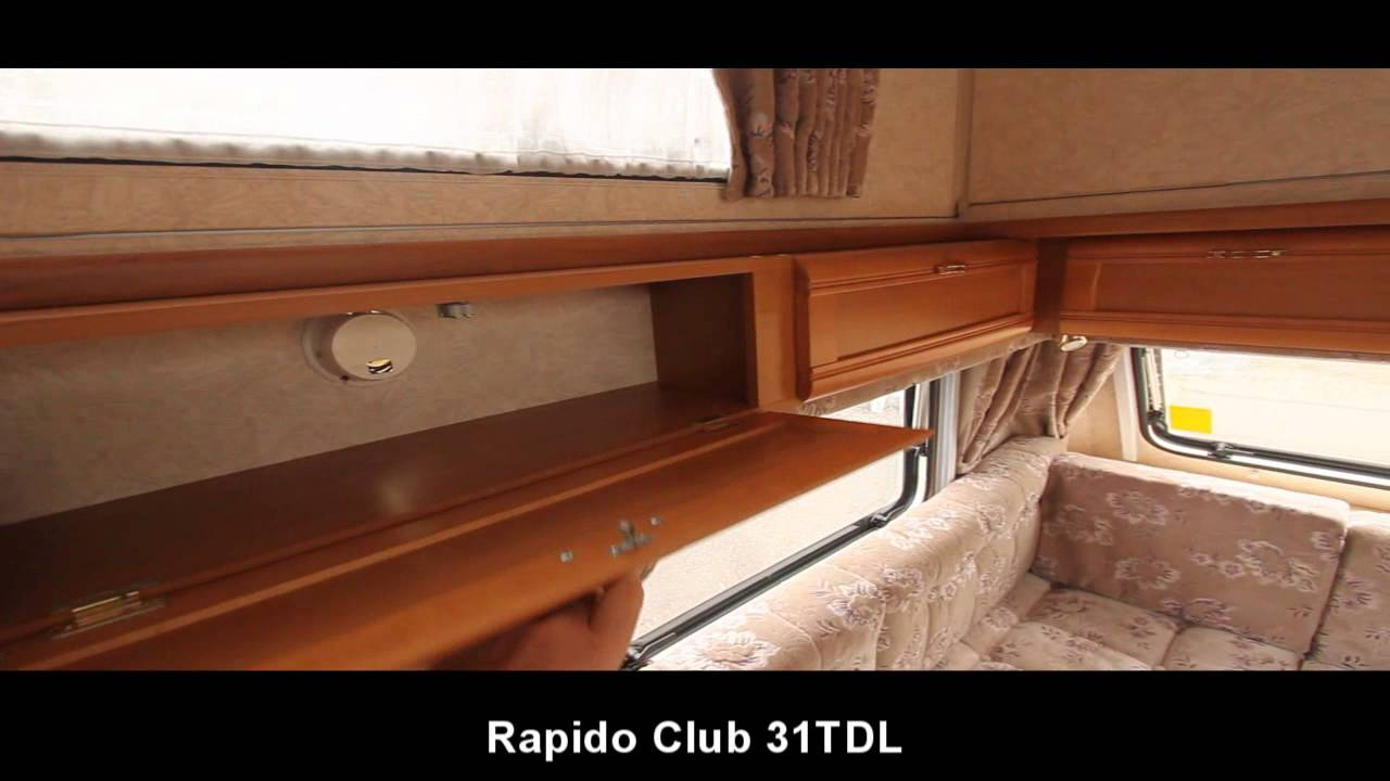 Rapido club 31tdl 1998 model youtube for Interieur 607