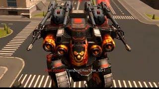 War Robots   1 vs 1 Tactics Gameplay