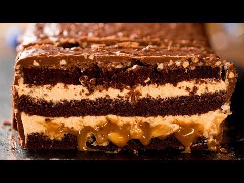 gâteau-au-chocolat---snickers-géants-!- -savoureux.tv