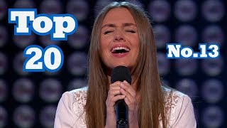 The Voice - My Top 20 Blind Auditions Around The World (No.13)