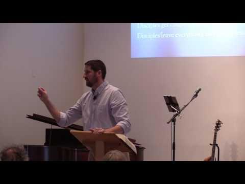 Disciples, Crowds and Pharisees (Luke 5, Jeff Kliewer)