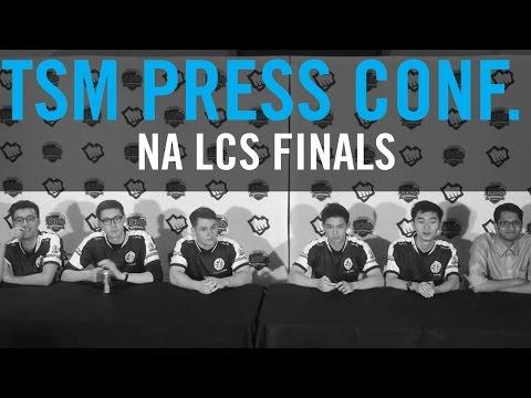TSM Press Conference - LCS Spring Finals 2017