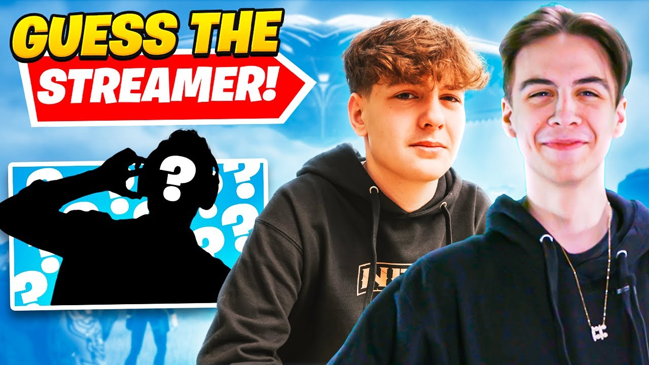Guess the Fortnite Streamer Challenge with Clix and Bucke