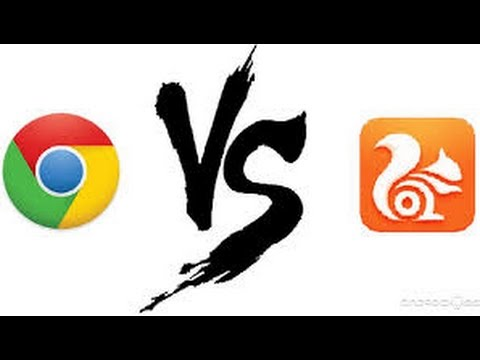 GOOGLE CHROME VS UC BROWSER || SPEED TEST , REVIEW - YouTube
