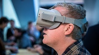 Hands-On with Oculus Go VR Headset!