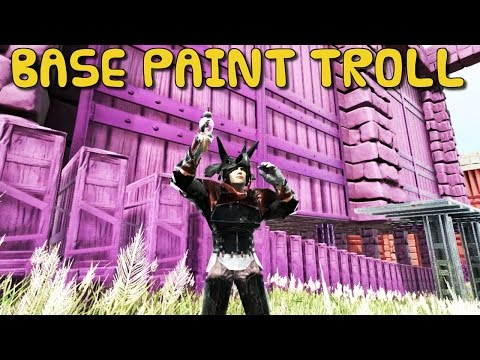 ARK:Survival Evolved Xbox One - BASE PAINT TROLL! [ 39 ]