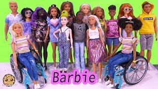 Baixar NEW 2020 Barbie + Ken Fashionistas Fashion Doll Haul Video - Cookie Swirl C
