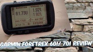 GARMIN FORETREX 601/701 BALLISTIC EDITION REVIEW
