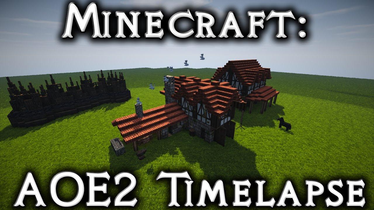 Village Minecraft Wooden Palisade Wwwmiifotoscom