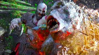 GOD OF WAR 4 Cinematic Trailer (2018) PS4