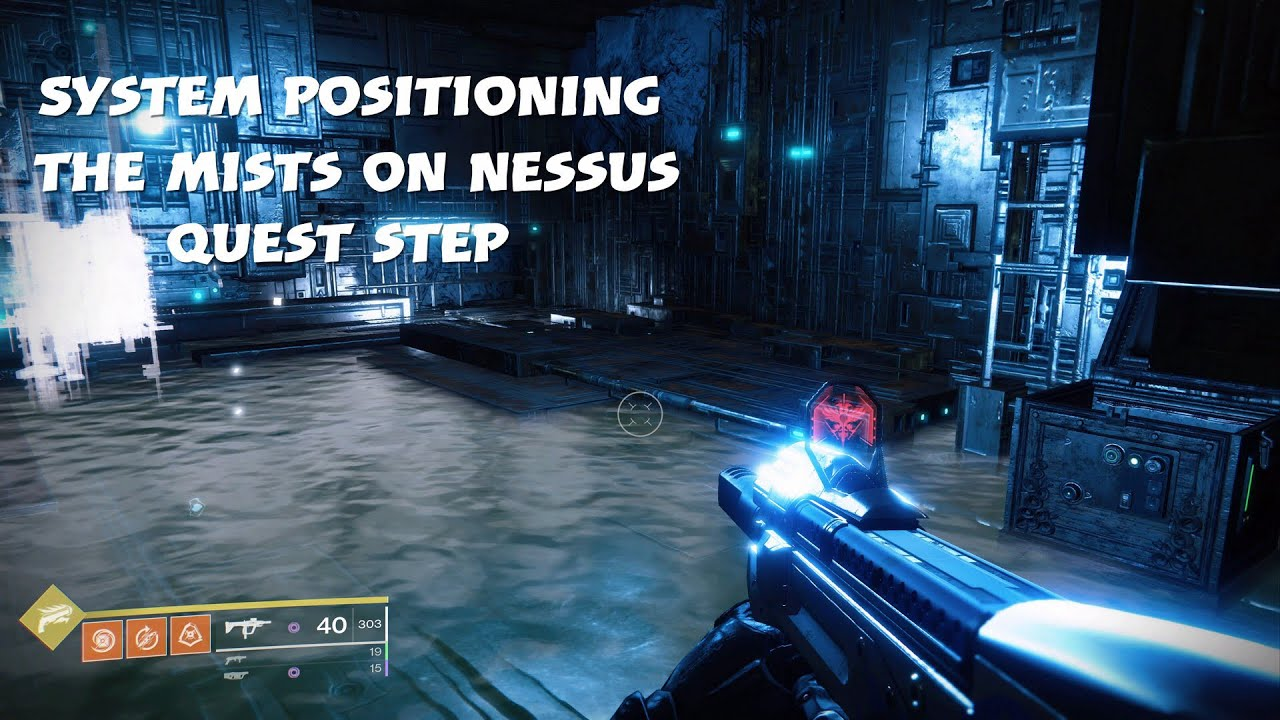 System Positioning | the Mists on Nessus Location (A Fateful Gift exotic  quest step)