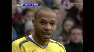 Aston Villa vs Arsenal PL 2005/06 FULL MATCH