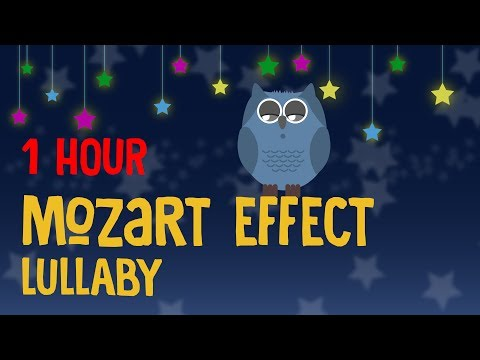 💜1 Hour🌲 Relaxing Mozart for Babies Lullaby, Classical Music for Babies, Mozart Effect