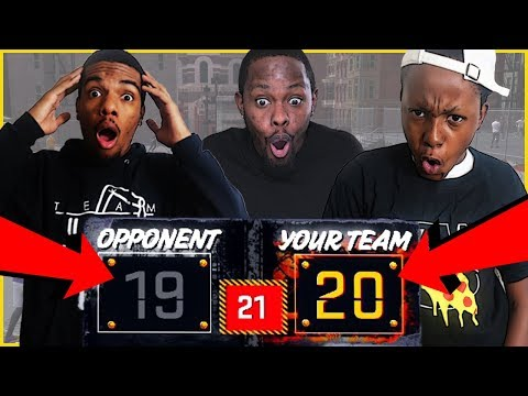 NECK AND NECK GAME! BUMS MIGHT BE IN TROUBLE!! - NBA 2K18 Park Gameplay