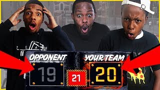 NECK AND NECK GAME! BUMS MIGHT BE IN TROUBLE!! - NBA 2K18 Park Gameplay thumbnail