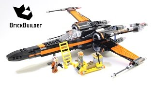 Lego Star Wars 75102 Poe's X-Wing Fighter - Lego Speed Build