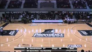 Hendricken vs Hope Basketball Playoffs Ending