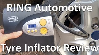 RING automotive tyre Inflator - REVIEW