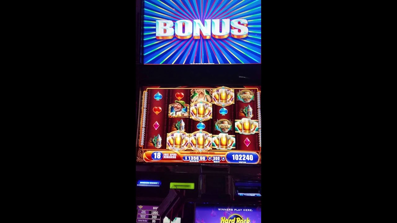 High limit slot bonuses
