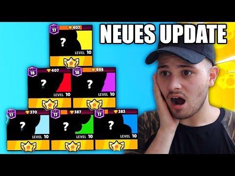 NEUES UPDATE - NEUE BRAWLER & NEUE STARPOWERS - Brawl Stars Deutsch