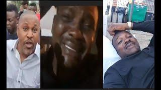 End SWAT, END SARS!  Protester, Yomi Fabiyi In Tears,Sleep On The Street