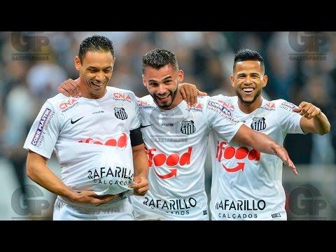 Corinthians 1 x 2 Santos | GOLS | Copa do Brasil (26/08/15)