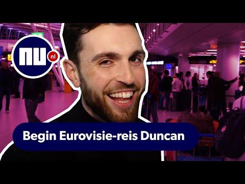 Duncan Laurence vertrekt naar Israël: 'Laat kritiek maar komen' | Songfestival Tel Aviv