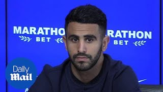 Manchester City's new signing Riyad Mahrez - Daily Mail
