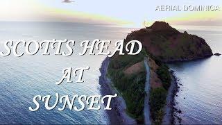 Scotts Head DOMINICA AT SUNSET | DJI MAVIC PRO