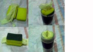 Homemade Sponge SexToy Fleshlight Tutorial