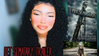 Pet Sematary 2019 Trailer REACTION
