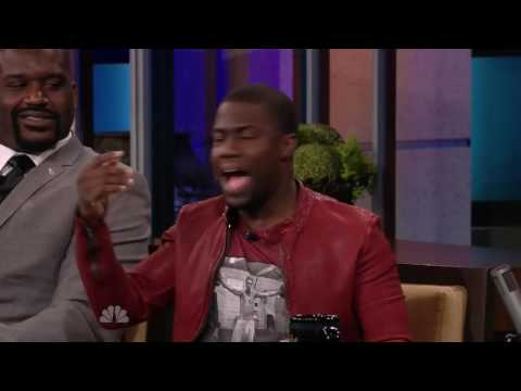 Shaq lifts & flips Kevin Hart   Full Interview